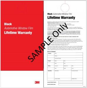 3M Window Tinting Warranty