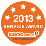 2013 Customer Service Award