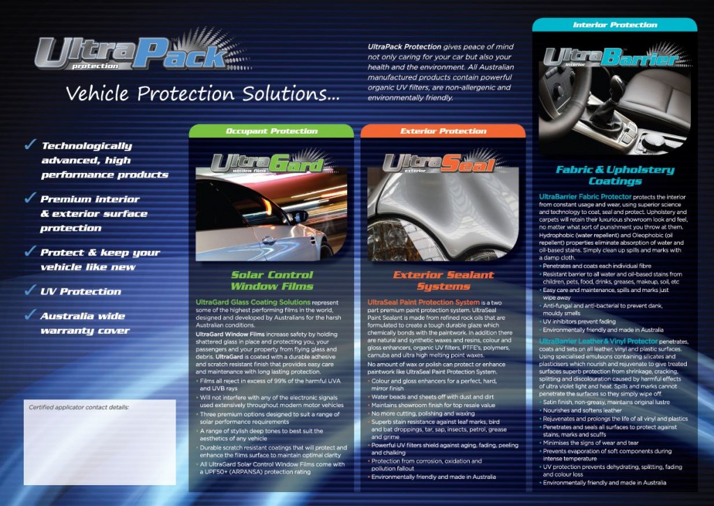 Car Protection Packages