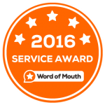 2016 Customer Service Award